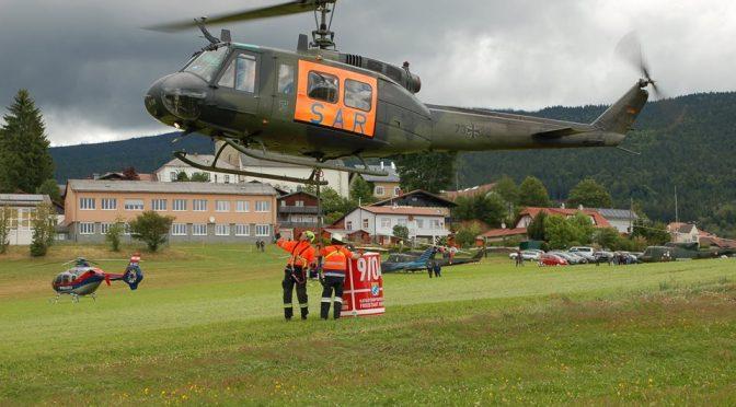 Katastrophenschutzübung im Dreiländereck
