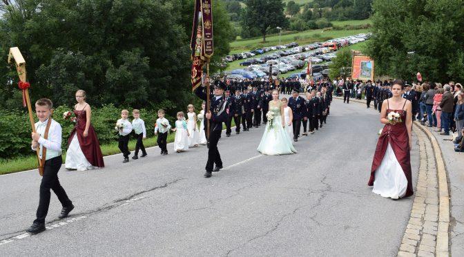 Ehrenpatenverein beim 150-jährigen Gründungsjubiläum der Feuerwehr Lam